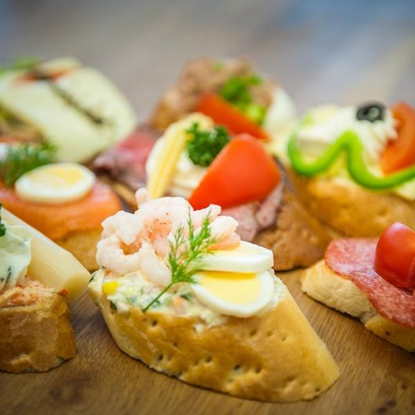 Pikante Brötchen & Sandwiches