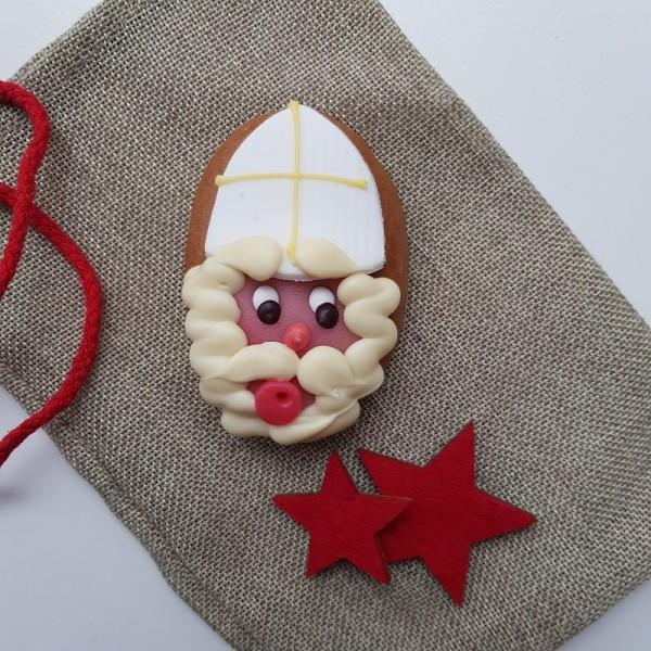 """Lebkuchen """"Nikolaus Gesicht"""""""