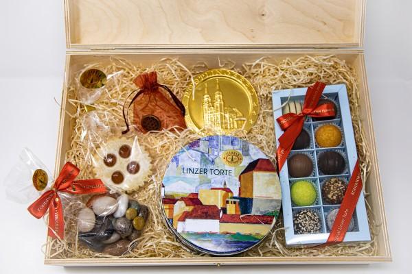 """Geschenkbox """"Linzer Box"""""""